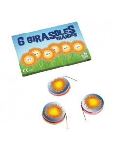 6 Girasoles Grandes